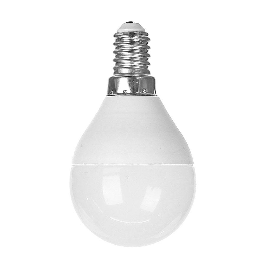 Bec LED sferic E14 6W lumina rece